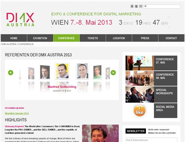 Xovi @ DMX-Austria Manfred Gottschling im Gespräch