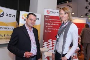 Manfred Gottschling präsentiert Xovi auf der DMX-Austria