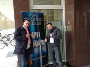 Thomas Schulze mit Manfred Gottschling @seocampixx 2013