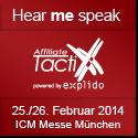 Manfred Gottschling spricht auf der Affiliate TactixX