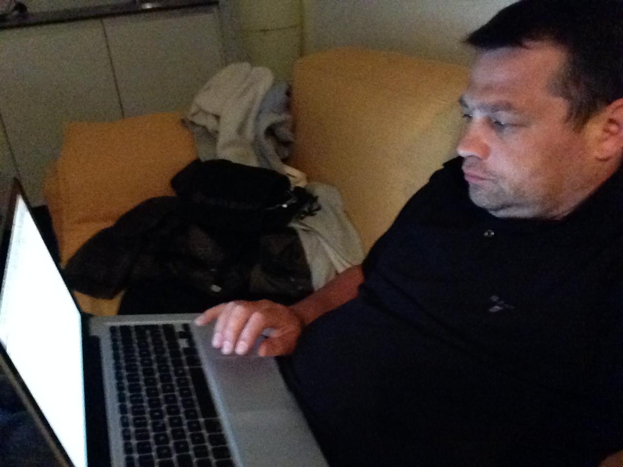 Manfred Gottschling contentday Vorbereitung